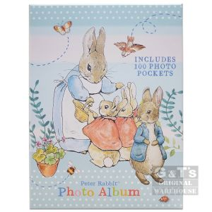 Peter Rabbit Gift Boxed Portrait Photo Album - 100 4 x 6 Inch Photos