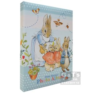 Peter Rabbit Portrait Photo Album - 100 4 x 6 Inch Photos