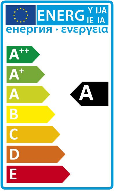 EU Energy Rating A