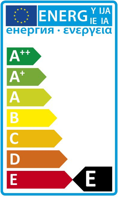 EU Energy Rating E